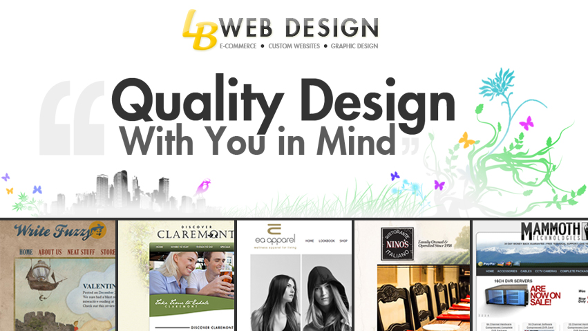 Long Beach Web Design - Website Design in Long Beach, CA | E-commerce + Graphics + Video